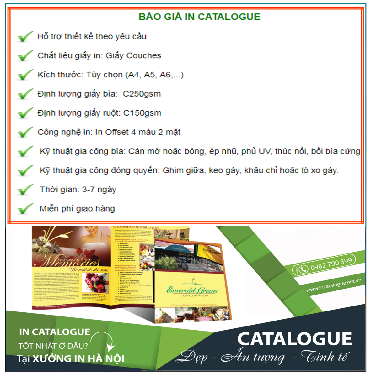 in catalog giá rẻ