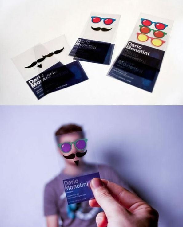 thẻ nhựa sáng tạo